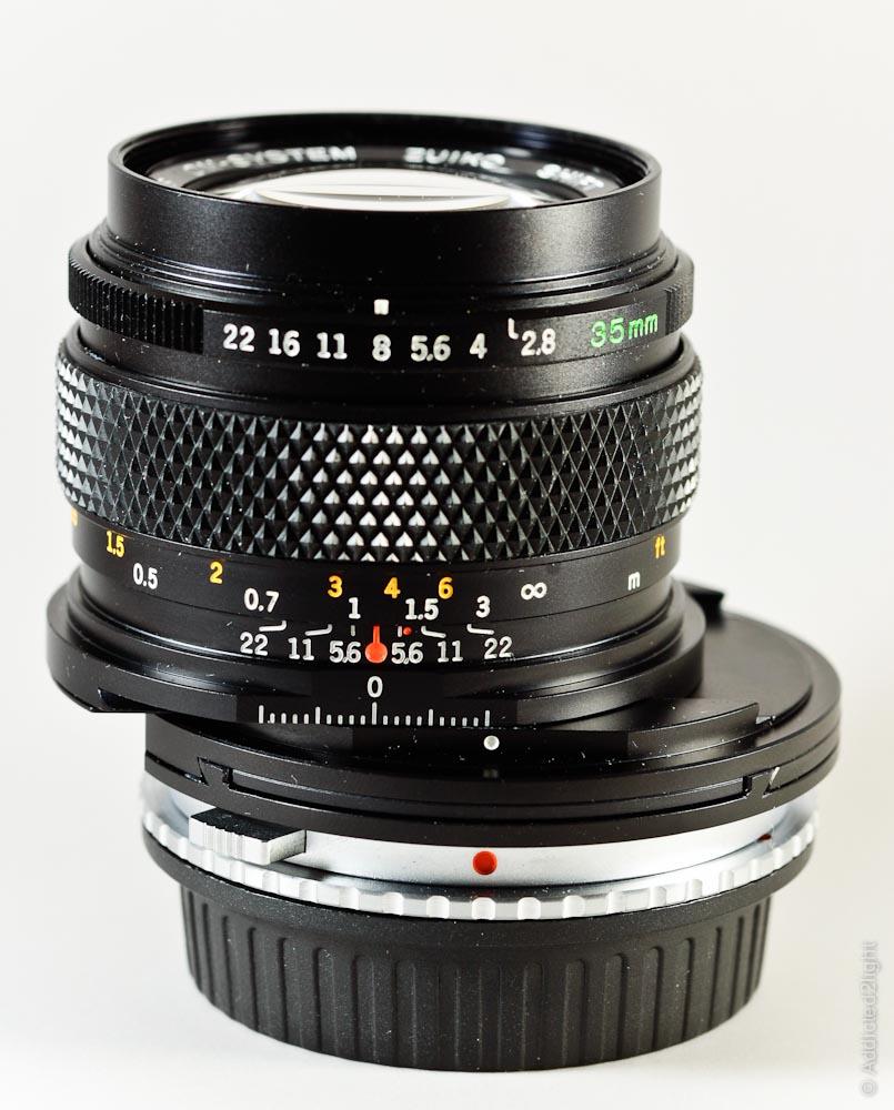 Olympus 35mm f/2,8 Zuiko Shift