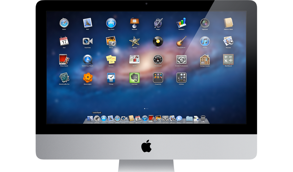 Mac Os X Lion and iMac