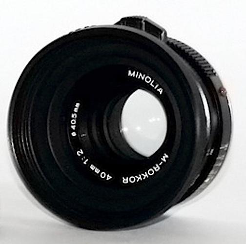 Minolta M-Rokkor 40mm f/2