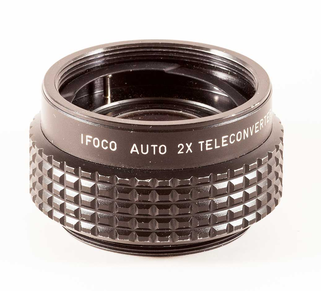 iFoco coverter Review: iFoco Auto Teleconverter 2x for Pentax M 42 screw tele review Pentax normal lens manual focus