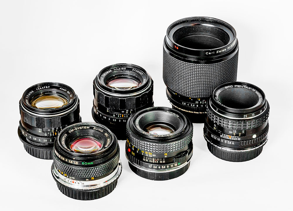 Battle of the 50mm lenses: the contestants