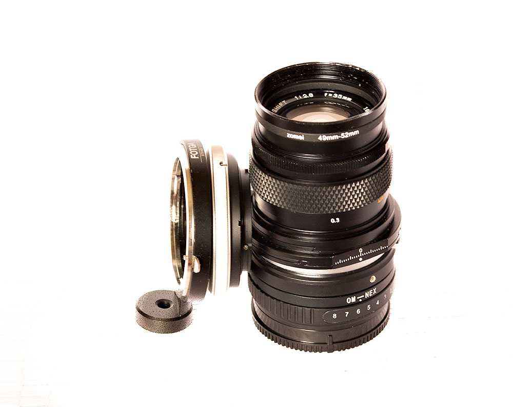 Non indexed vs indexed tilt adapter