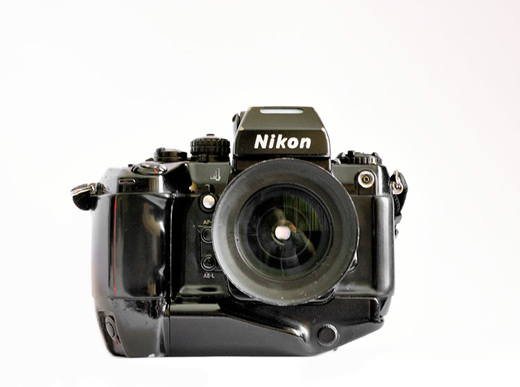 Top five best film cameras for less than 500 euro - Nikon F4s