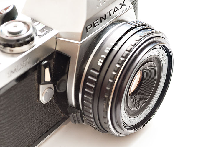 Top five best film cameras for less than 500 euro - Pentax ME Super