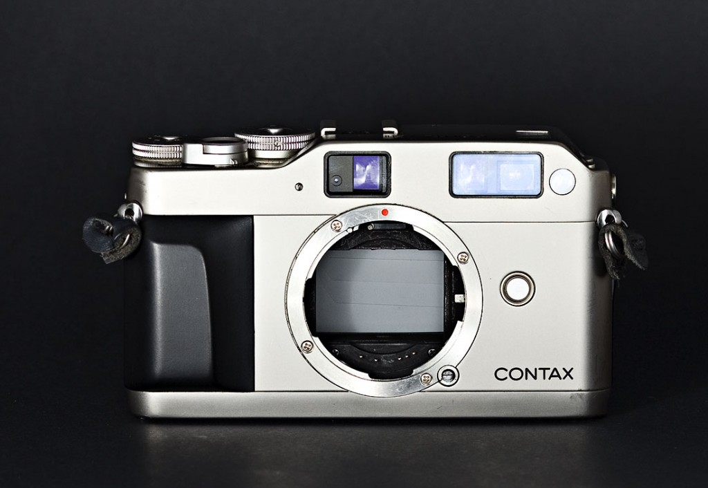 Top five best film cameras for less than 500 euro - Contax G1