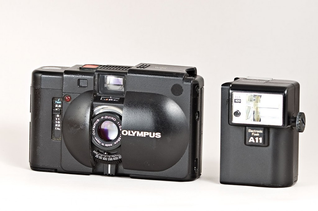 Top five best film cameras for less than 500 euro - Olympus XA